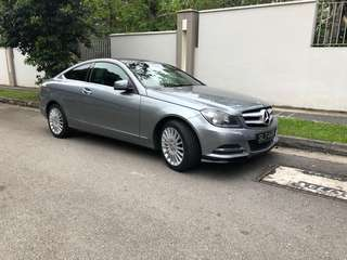 Mercedes-Benz C180 Coupe Auto Style Package