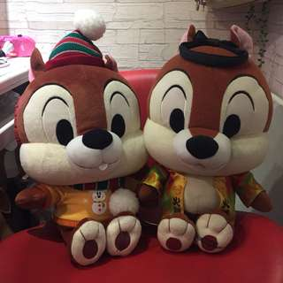 🚚 日本帶回迪士尼奇奇娃娃