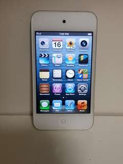 Ipod Touch 4th Gen White 8GB