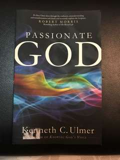 Passionate God (Christian Book)