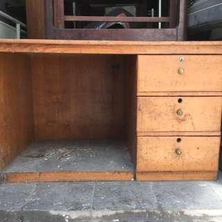 Meja Kayu - harga nego