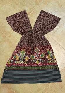 Batik Purple Top