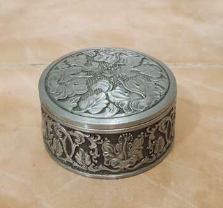 Tumasek Pewter Malaysia Airlines mini trinket box