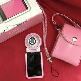 FR100L pink 99% good condition full set 16gb memory under warranty 16 month