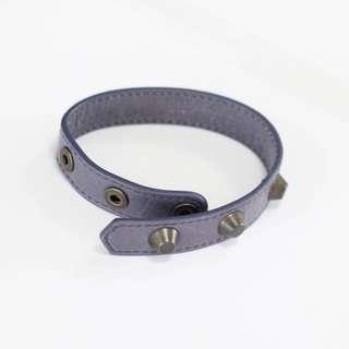BALENCIAGA Triple Wrap Arena Bracelet