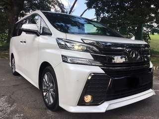 Toyota vellfire direct owner sambung bayar