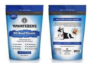 K9 Wooferine Pet Snacks