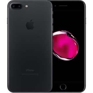 iPhone 7 Plus Matte Black 256GB