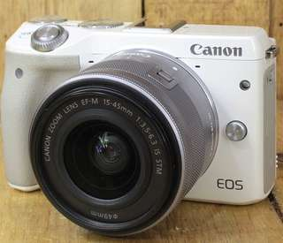 kamera canon eos m3 WHITE
