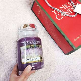 Yankee Candle Lavender (623g)