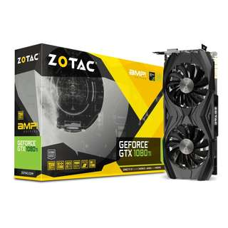 ZOTAC GeForce® GTX 1080 Ti AMP Edition 11GB GDD5RX(5 Yrs Warranty)