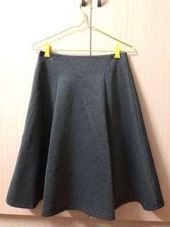 Midi Grey Skirt