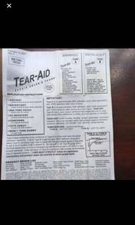 TEAR AID REPAIR PATCH - Extreme Bond Glueless