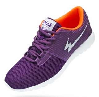 Sepatu Running Eagle Sky Walker Warna Pul Orange (Unisex)