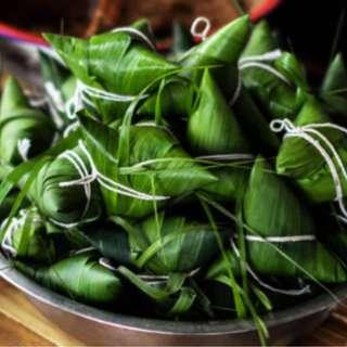 Bak Chang Rice Dumpling HOMEMADE #Eastsiders