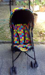 MOTHERCARE'S PICK AND MIX PUSHCHAIR