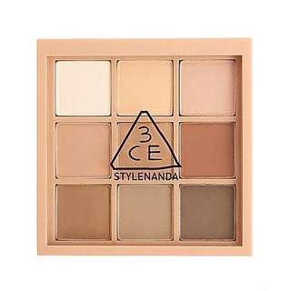 Brand New 3CE Eye Palette (#SMOOTHER)