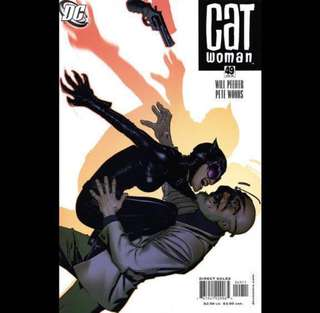 CATWOMAN comics by Adams Hughes (2006-2007) Single Issues