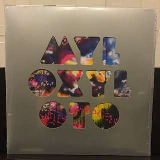 Coldplay ‎Mylo Xyloto vinyl lp. new