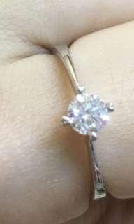 """超閃 GIA鑽石戒指""""原價$9800 平售$5660 超值"""