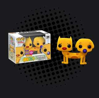 FUNKO POP - CATDOG FLOCKED 2017 SUMMER CONVENTION EXCLUSIVE