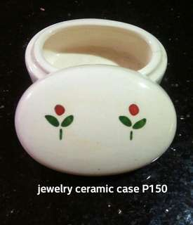 Cute Ceramic Jewelry Holder