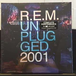 R.E.M Unplugged 2001. 2LP. Vinyl lp. New