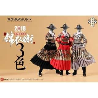 PO: O-Soul - 1/6 King's Warrior - Female Flying Fish Costume (Black, Red, Grey)