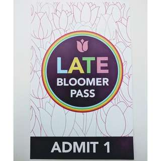 Tesselaar Tulip Festival - Late Bloomer Pass