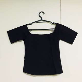 Fitted croptop