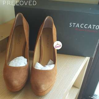 STACCATO SUEDE SIZE 38