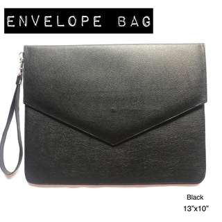 BLACK ENVELOPE BAG #FREEDELIVERY