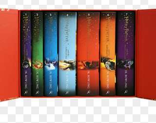ENTIRE HARRY POTTER SERIES