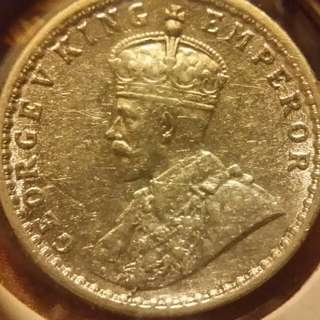 一個細印度銀幣