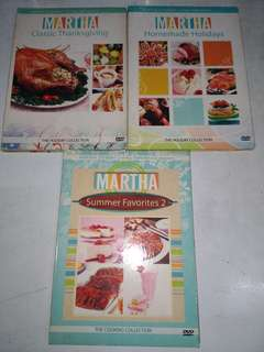 Martha Stewart Original DVDs