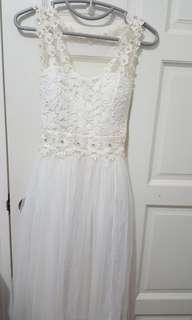 Wedding Dress/White Dress/ROM Dress