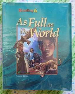 BJUPress Reading student text 2nd ed. For Grade 6