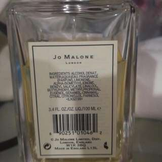 Authentic Jo Malone Blue Agava And Cacao