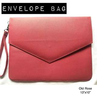 OLD ROSE ENVELOPE BAG #FREEDELIVERY