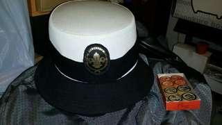 珍藏童軍領袖帽,舊品……勁靚料,屯門交收,或順丰到付 Scout hat, trade in Tuen.Mun