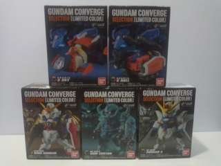 1 Set of FW GUNDAM CONVERGE SELECTION [LIMITED COLOR]