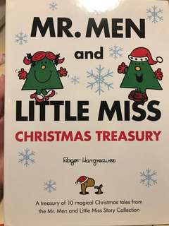 Mr. Men Little Miss hard cover A4 size book