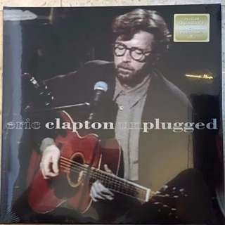 Eric Clapton Unplugged Vinyl Lp, New