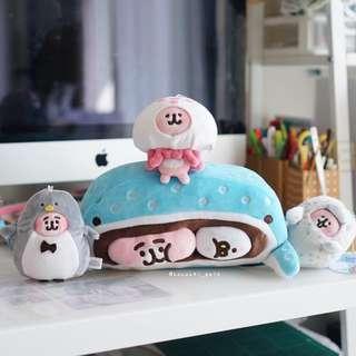 日本 kanahei 水族館 cushion 吊飾公仔 最後一批