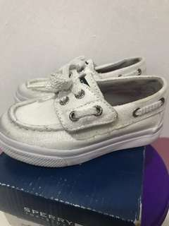 Sperry Bahama JR white\silver