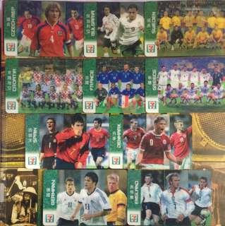 球迷回憶!立體球星記念卡(2004年便利店記念品)