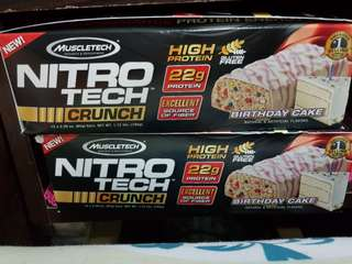 Nitro Tech Protein energy bar (MuscleTech)