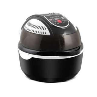 5-Star Chef 1300W 10L Air Fryer 6 Function Convection Oven Cooker Healthy Black