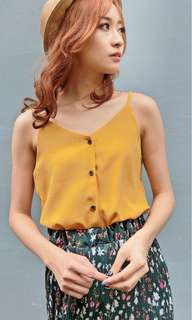 Button Camisole Top