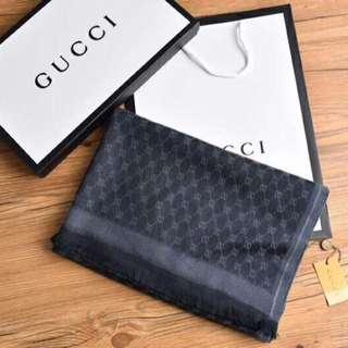 Gucci Scarf Black t V1